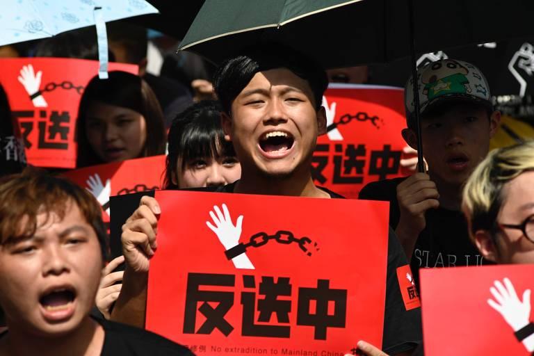Taiwan dará abrigo a manifestantes de Hong Kong que temem governo chinês