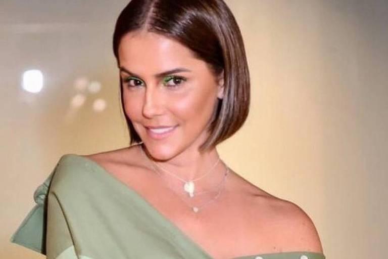A atriz Deborah Secco
