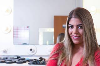 Retrato da ex-prostituta Raquel Pacheco