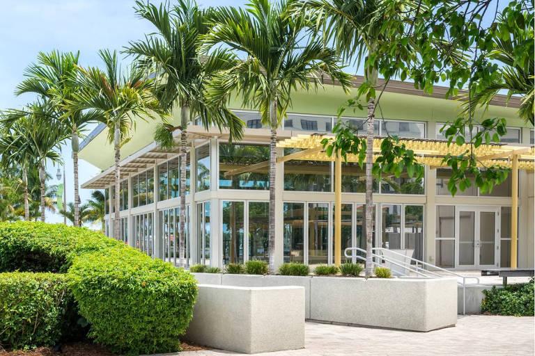 Pavilhão do Lago, em West Palm Beach, na Flórida