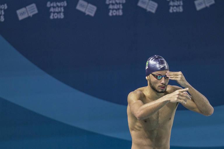 André Luís Calvelo, que ganhou vaga de titular no Mundial de Esportes Aquáticos