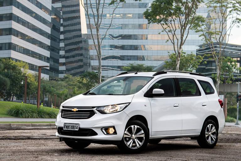 Chevrolet Spin Premier é a novidade da linha 2020