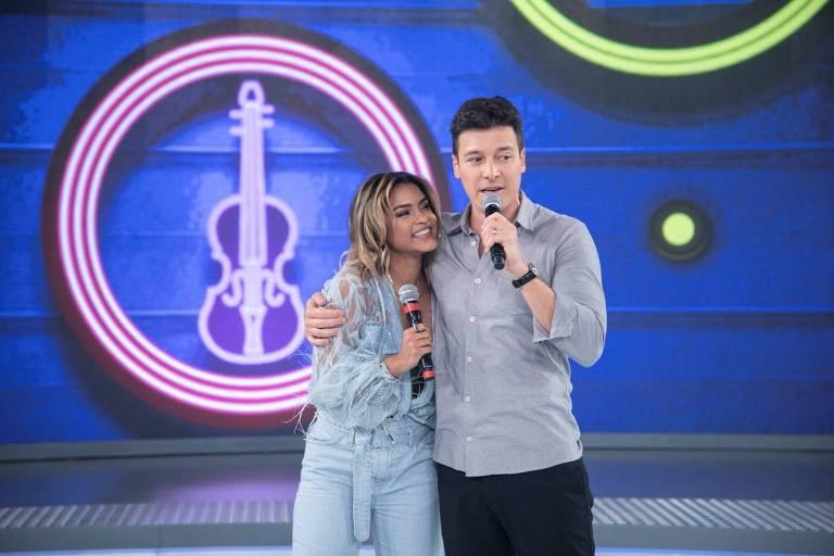 Lucy Alves e Rodrigo Faro