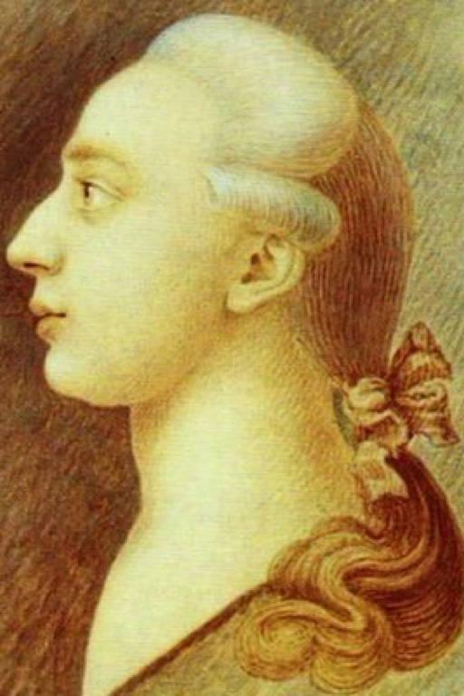 Imagem do escritor Giacomo Casanova