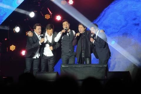 Show da turnê Amigos em Belo Horizonte