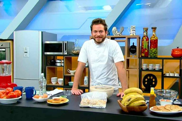Dalton Rangel, chef que se apresenta no Hoje em Dia, da Record