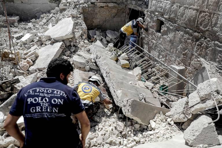 Ataques na região de Idlib deixam ao menos 18 mortos na Síria
