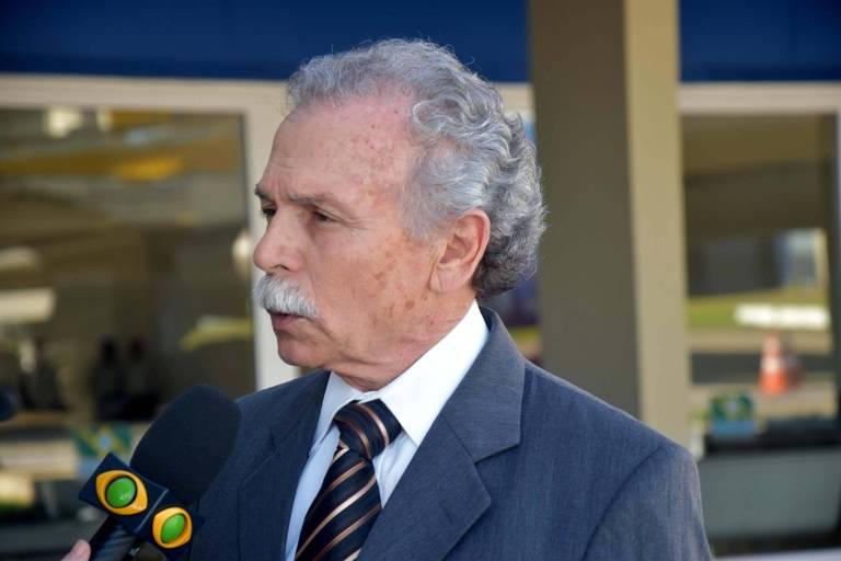 O diretor do Inpe, Ricardo Galvão