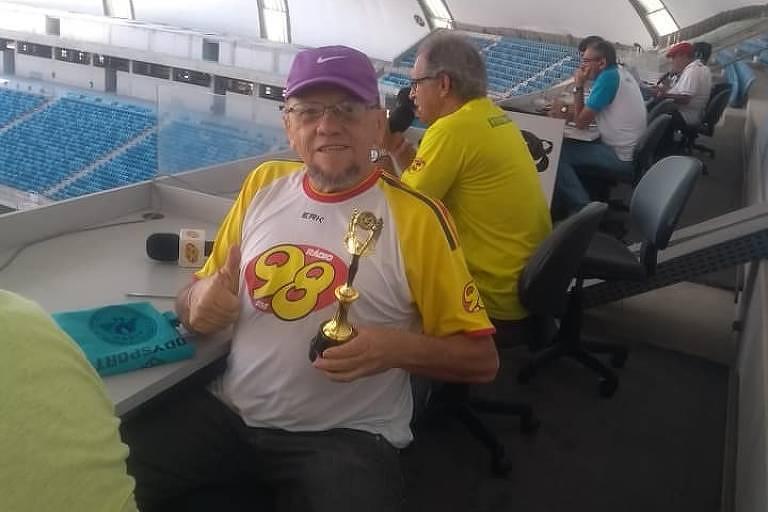 O radialista Chico Inácio