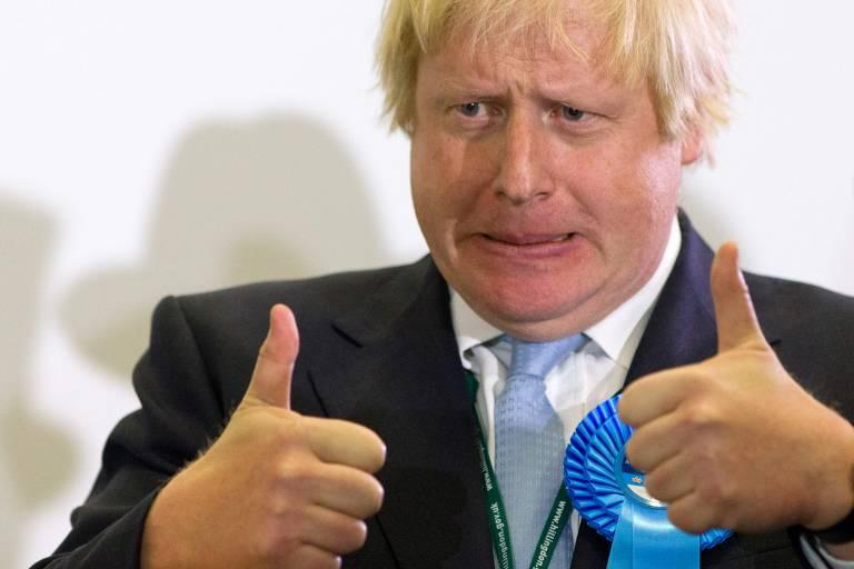 A trajetória de Boris Johnson