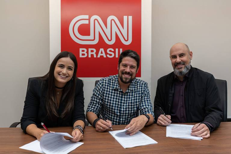 Mari Palma e Phelipe Siani serão apresentadores na CNN Brasil