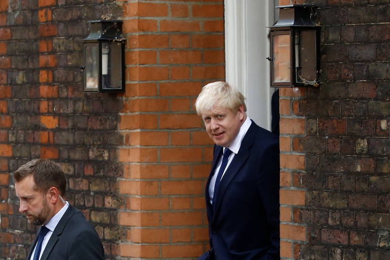 Boris Johnson, favorito ao cargo de premiê do Reino Unido