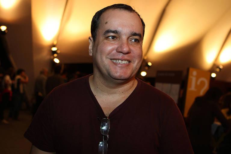 Ecio Salles, diretor da Flup, na abertura oficial da Flip, em foto de 2012