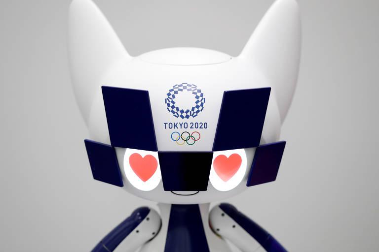 Robôs olímpicos que trabalharão na Tóquio-2020