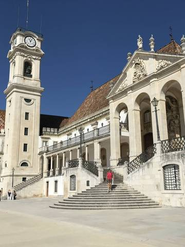COIMBRA, PORTUGAL 23.03.2018 Universidade de Coimbra, em Portugal (Foto: Ricardo Ribeiro/Folhapress)