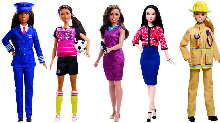Barbie comemora 60 anos com diversidade de profissões