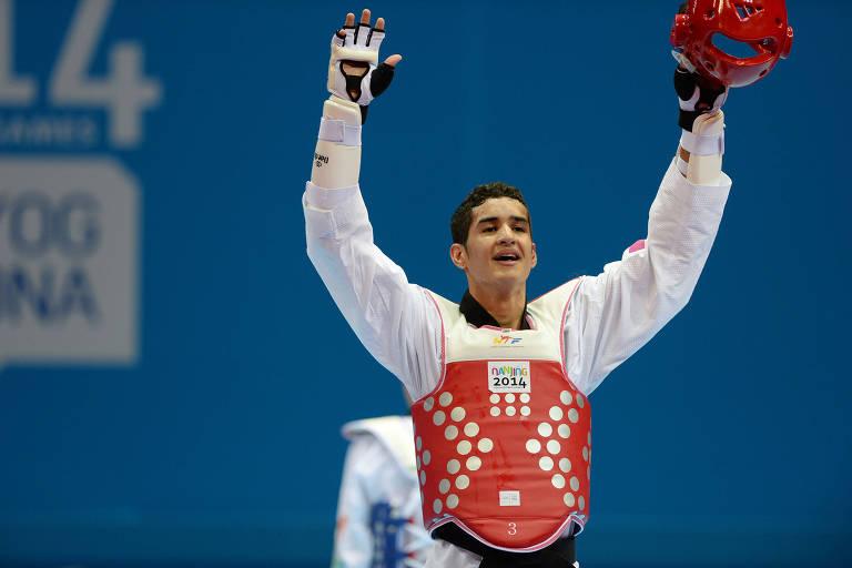 Edival Pontes, atleta brasileiro do taekwondo que disputará os jogos Pan-Americanos de Lima, no Peru