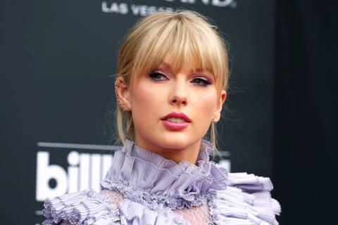FILE PHOTO: 2019 Billboard Music Awards- Arrivals - Las Vegas, Nevada, U.S., May 1, 2019 - Taylor Swift. REUTERS/Steve Marcus/File Photo ORG XMIT: FW1
