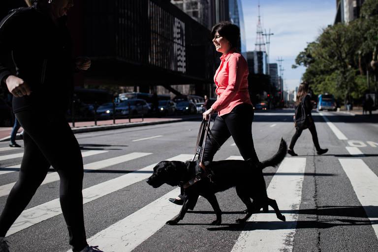Pivô de lei que permitiu cães-guias, Thays Martinez voltou a sofrer recusa