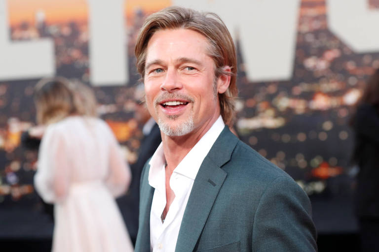 "Brad Pitt na premiere de ""Once Upon a Time In Hollywood"""