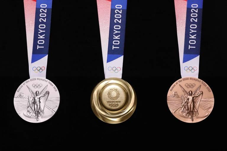 As medalhas de Tóquio-2020