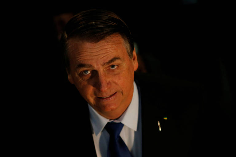 Bolsonaro durante evento no Congresso, neste mês; presidente afirmou que Ancine poderá ser privatizada ou extinta se não for possível 'ter um filtro' na produção nacional
