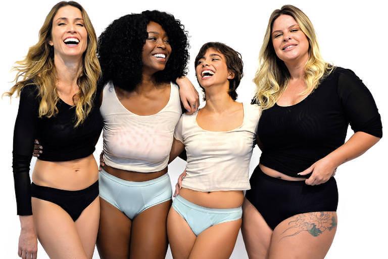 Feitas com fibra de bambu, as lingeries absorventes são uma opção econômica e sustentável para a menstruação