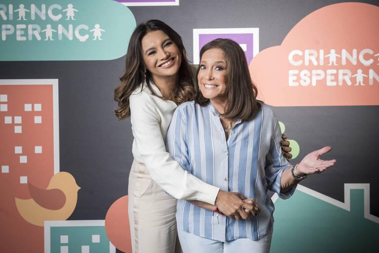 Dira Paes e Susana Vieira no Criança Esperança