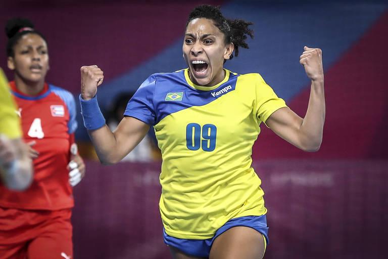 Jogos Panamericanos Lima 2019 - Lima (PER) -  VIDENA  - .Handebol feminino - Brasil x Cuba