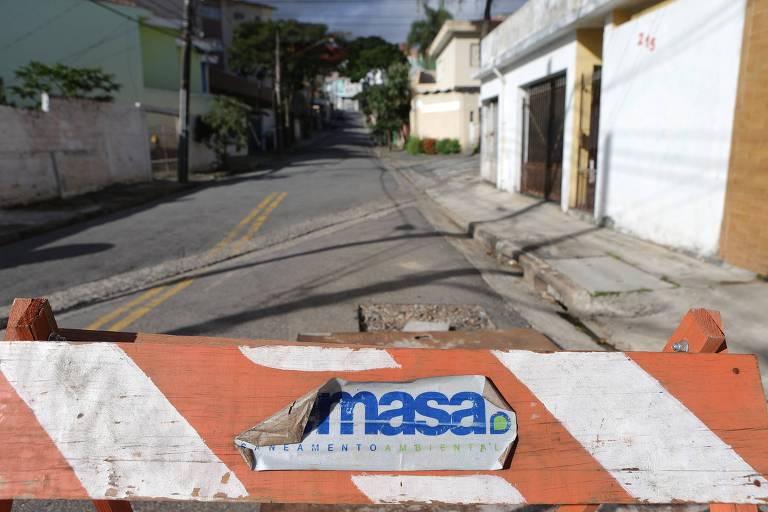 Semasa atua na cidade de Santo André e será substituída pela Sabesp