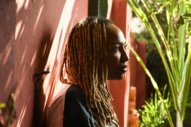Opal Tometi, cofundadora do Black Lives Matter, movimento contra o racismo, fotografada em São Paulo