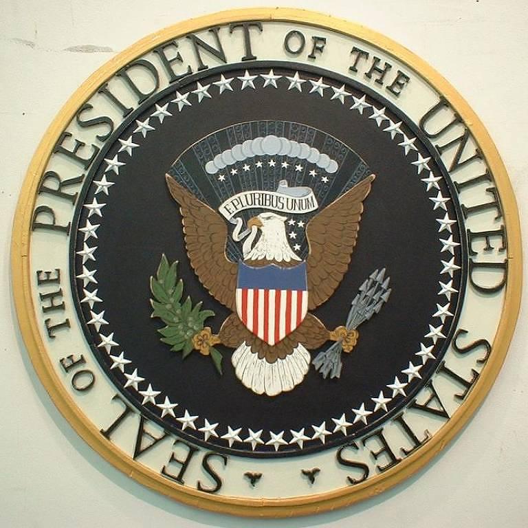 O selo presidencial americano original