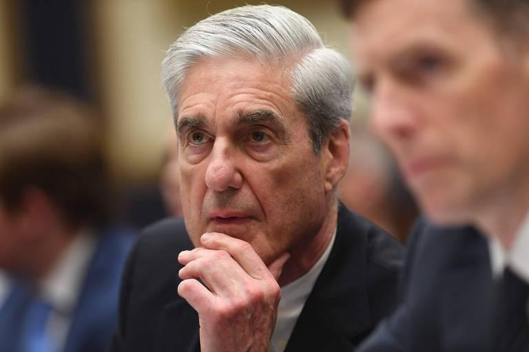 O ex-procurador especial Robert Mueller presta depoimento à Comissão de Justiça da Câmara dos Deputados dos EUA