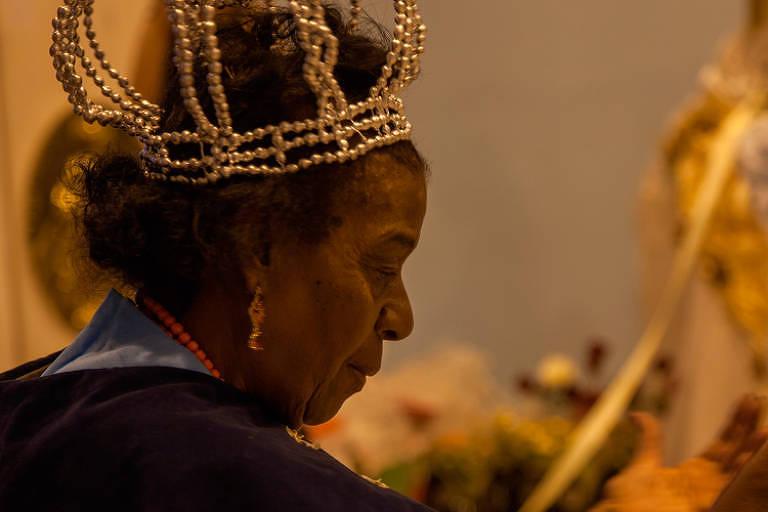 Cena de 'A Rainha Nzinga Chegou'