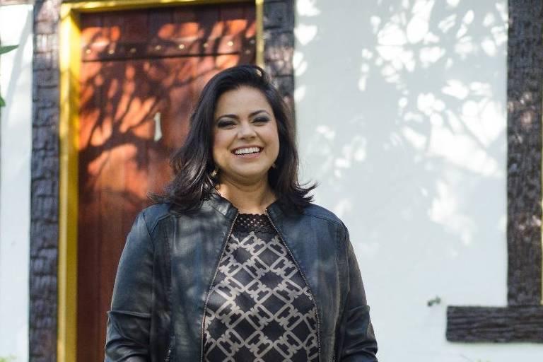 Janaina Soares, 42, que estuda arquitetura a distância