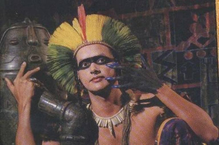Fotografia do Cacik Jonne, ex-guitarrista da banda Chiclete com Banana