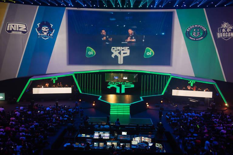 """Local onde foi disputado o torneio universitário de eSports Final Tues de """"Counter-Strike: Global Offensive"""", na Game XP"""
