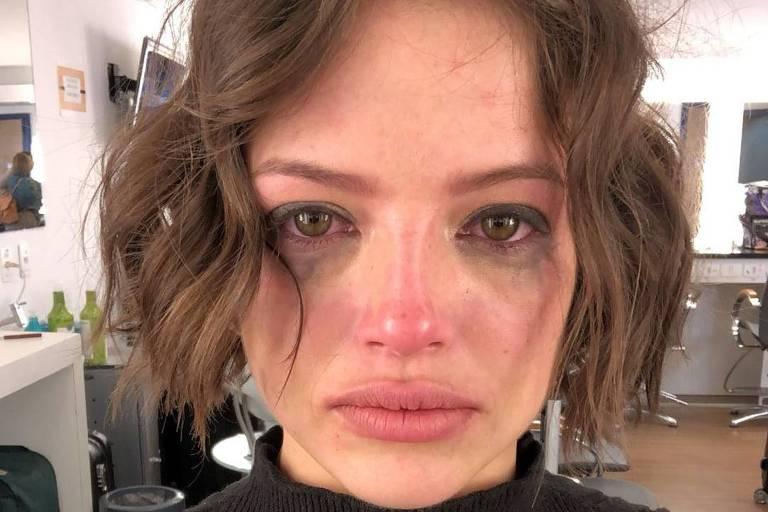 Agatha Moreira posta foto depois de levar surra de sua mãe em 'A Dona do Pedaço'