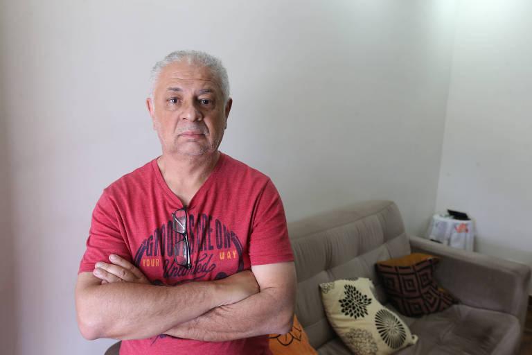 Valmir Rodrigues da Silva, 60, sofreu um AVC (Acidente Vascular Cerebral) e, em 2011, foi aposentado por invalidez pela Justiça; benefício está suspenso