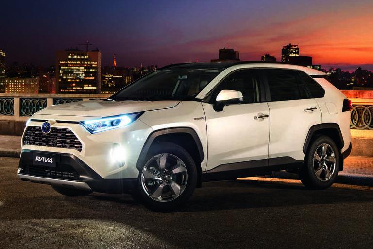 Com três motores a eletricidade e um movido gasolina, Toyota RAV4 consome igual 1.0