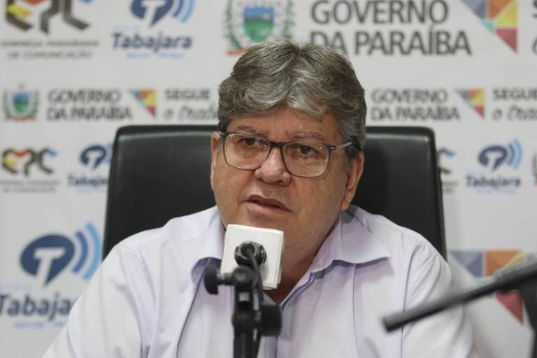 O governador da Paraíba, João Azevêdo (PSB)