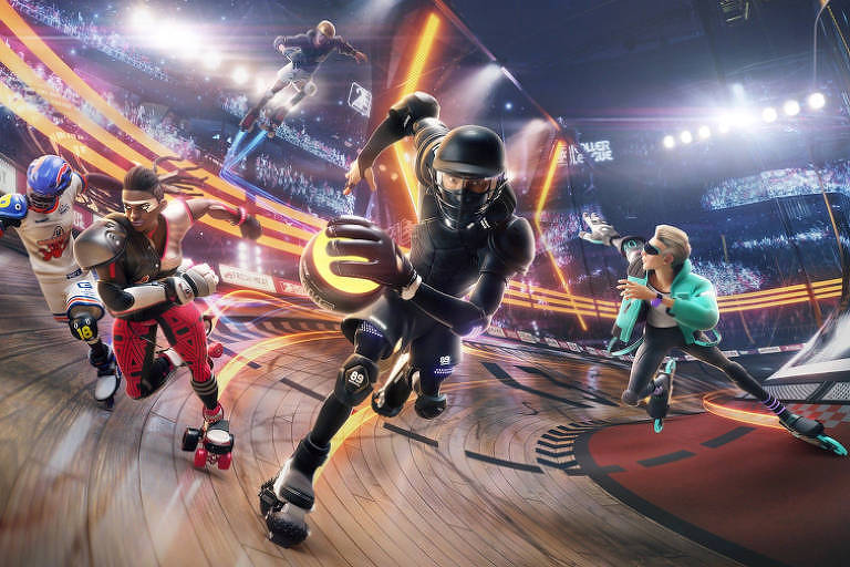 'Roller Champions', novo jogo da Ubisoft