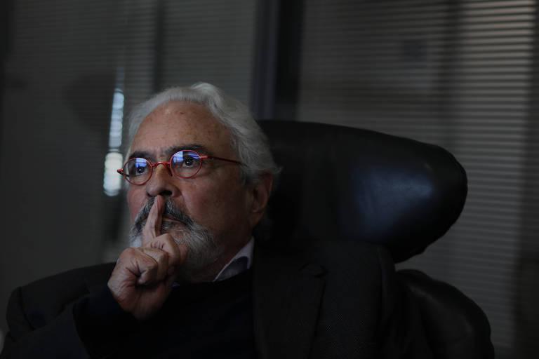 Jurista Jose Carlos Dias, durante entrevista em seu escritório, no centro de São Paulo