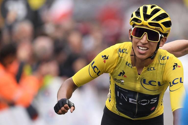 Colombiano é o primeiro latino-americano a vencer o Tour de France