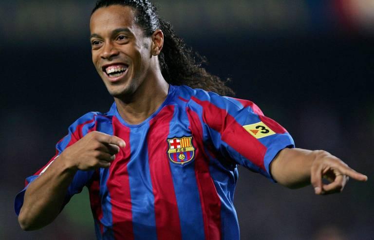 A carreira de Ronaldinho Gaúcho