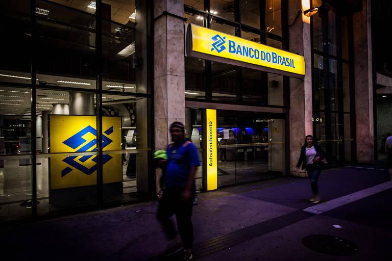 Fachada do Banco do Brasil na avenida Paulista no centro de São Paulo.