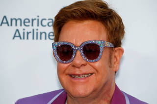 Midsummer Party for the Elton John Aids Foundation in Antibes