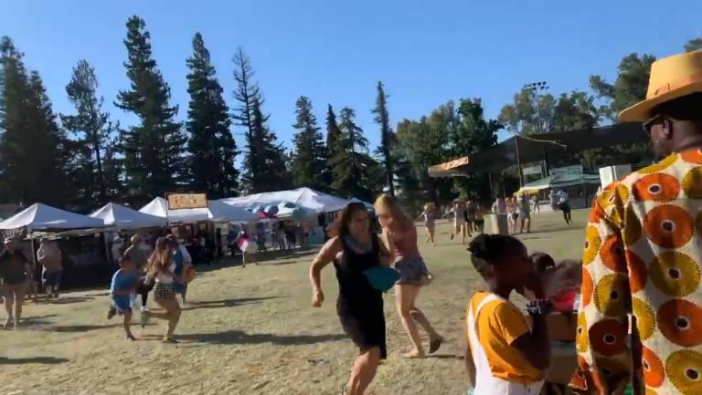 Ataque a festival gastronômico na Califórnia