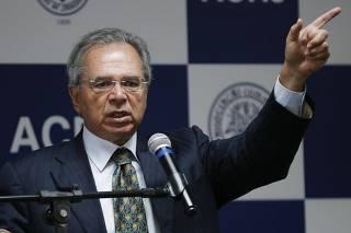 Paulos Guedes faz palestra na Associação Comercial do Rio de Janeiro