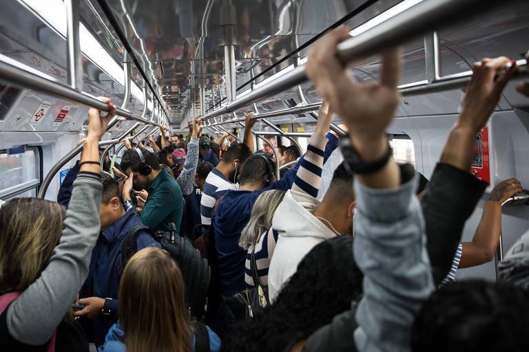 Pesquisa revela 10 linhas de trem com maior percepção de lotação